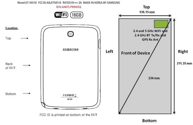 Samsung-GT-N5110-FCC