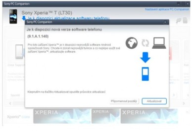 [ACTUALIZACIÓN] Xperia T se actualiza a la versión 9.1.A.1.140, Jelly Bean 4.1.2.