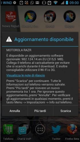 [NOTICIA] Motorola Razr: Android 4.1.2. llega a Europa!